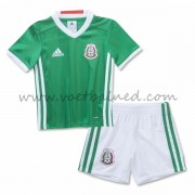 Voetbaltenue Kind Mexico 2016 Thuisshirt..