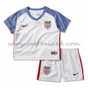 Voetbaltenue Kind USA 2016 Thuisshirt..