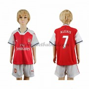 Voetbaltenue Kind Arsenal 2016-17 Alexis 17 Thuisshirt..