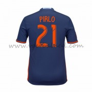 Voetbalshirts Clubs New York City 2016-17 Andrea Pirlo 21 Uitshirt..