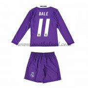 Voetbaltenue Kind Real Madrid 2016-17 Bale 11 Uitshirt Lange Mouw..