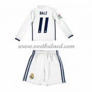 Voetbaltenue Kind Real Madrid 2016-17 Bale 11 Thuisshirt Lange Mouw..