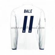 Voetbalshirts Clubs Real Madrid 2016-17 Bale 11 Thuisshirt Lange Mouw..