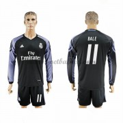 Voetbalshirts Clubs Real Madrid 2016-17 Bale 11 Third Shirt Lange Mouw..