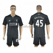 Voetbalshirts Clubs Liverpool 2016-17 Balotelli 45 Uitshirt..