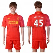 Voetbalshirts Clubs Liverpool 2016-17 Balotelli 45 Thuisshirt..