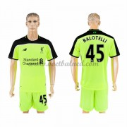 Voetbalshirts Clubs Liverpool 2016-17 Balotelli 45 Third Shirt..