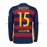 Voetbalshirts Clubs Barcelona 2016-17 Bartra 15 Thuisshirt Lange Mouw..