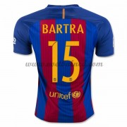 Voetbalshirts Clubs Barcelona 2016-17 Bartra 15 Thuisshirt..