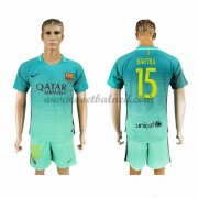 Voetbalshirts Clubs Barcelona 2016-17 Bartra 15 Third Shirt..