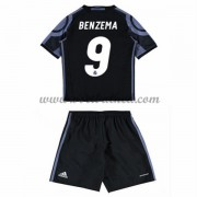 Voetbaltenue Kind Real Madrid 2016-17 Benzema 9 Third Shirt..