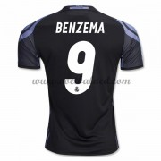 Voetbalshirts Clubs Real Madrid 2016-17 Benzema 9 Third Shirt..