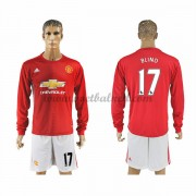 Voetbalshirts Clubs Manchester United 2016-17 Blind 17 Thuisshirt Lange Mouw..