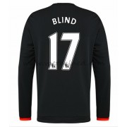 Voetbalshirts Clubs Manchester United 2016-17 Blind 17 Third Shirt Lange Mouw..