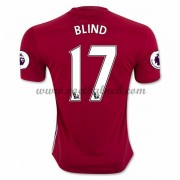 Voetbalshirts Clubs Manchester United 2016-17 Blind 17 Thuisshirt..