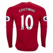 Voetbalshirts Clubs Liverpool 2016-17 Coutinho 10 Thuisshirt Lange Mouw..