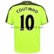 Voetbalshirts Clubs Liverpool 2016-17 Coutinho 10 Third Shirt..