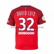 Voetbalshirts Clubs Paris Saint Germain Psg 2016-17 David Luiz 32 Uitshirt..