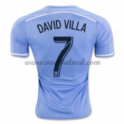 Voetbalshirts Clubs New York City 2016-17 David Villa 7 Thuisshirt..