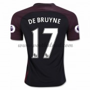 Voetbalshirts Clubs Manchester City 2016-17 De Bruyne 17 Uitshirt..