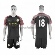 Voetbalshirts Clubs Manchester City 2016-17 Delph 18 Uitshirt..