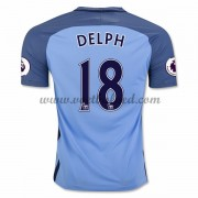 Voetbalshirts Clubs Manchester City 2016-17 Delph 18 Thuisshirt..