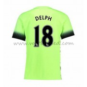 Voetbalshirts Clubs Manchester City 2016-17 Delph 18 Third Shirt..
