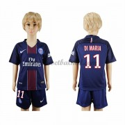 Voetbaltenue Kind Paris Saint Germain PSG 2016-17 Di Maria 11 Thuisshirt..