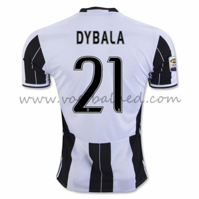 Voetbalshirts Clubs Juventus 2016-17 Dybala 21 Thuisshirt