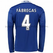 Voetbalshirts Clubs Chelsea 2016-17 Fabregas 4 Thuisshirt Lange Mouw..