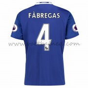 Voetbalshirts Clubs Chelsea 2016-17 Fabregas 4 Thuisshirt..