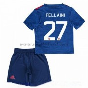 Voetbaltenue Kind Manchester United 2016-17 Fellaini 27 Uitshirt..