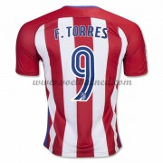 Voetbalshirts Clubs Atletico Madrid 2016-17 Fernando Torres 9 Thuisshirt..