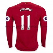 Voetbalshirts Clubs Liverpool 2016-17 Firmino 11 Thuisshirt Lange Mouw..