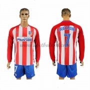 Voetbalshirts Clubs Atletico Madrid 2016-17 Griezmann 7 Thuisshirt Lange Mouw..