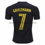 Voetbalshirts Clubs Atletico Madrid 2016-17 Griezmann 7 Uitshirt..