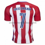 Voetbalshirts Clubs Atletico Madrid 2016-17 Griezmann 7 Thuisshirt..