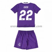 Voetbaltenue Kind Real Madrid 2016-17 Isco 22 Uitshirt..