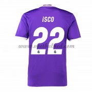 Voetbalshirts Clubs Real Madrid 2016-17 Isco 22 Uitshirt..