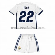 Voetbaltenue Kind Real Madrid 2016-17 Isco 22 Thuisshirt..