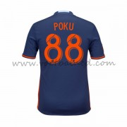 Voetbalshirts Clubs New York City 2016-17 Kwadwo Poku 88 Uitshirt..