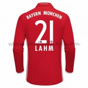 Voetbalshirts Clubs Bayern Munich 2016-17 Lahm 21 Thuisshirt Lange Mouw..