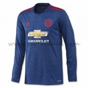 Voetbalshirts Clubs Manchester United 2016-17 Uitshirt Lange Mouw..