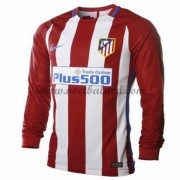 Voetbalshirts Clubs Atletico Madrid 2016-17 Thuisshirt Lange Mouw..