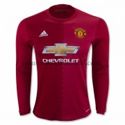 Voetbalshirts Clubs Manchester United 2016-17 Thuisshirt Lange Mouw..