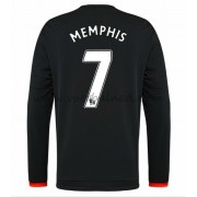 Voetbalshirts Clubs Manchester United 2016-17 Memphis 7 Third Shirt Lange Mouw..