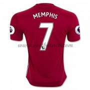 Voetbalshirts Clubs Manchester United 2016-17 Memphis 7 Thuisshirt..