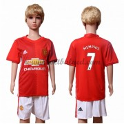 Voetbaltenue Kind Manchester United 2016-17 Memphis Depay 7 Thuisshirt..