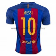 Voetbalshirts Clubs Barcelona 2016-17 Messi 10 Thuisshirt..