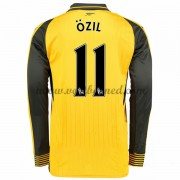 Voetbalshirts Clubs Arsenal 2016-17 Ozil 11 Uitshirt Lange Mouw..